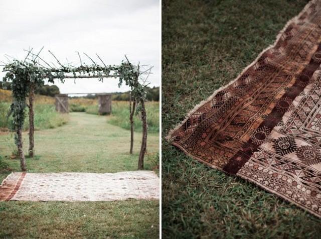 Stylish Bohemian Farmhouse Wedding: Chelsea   Ainsworth