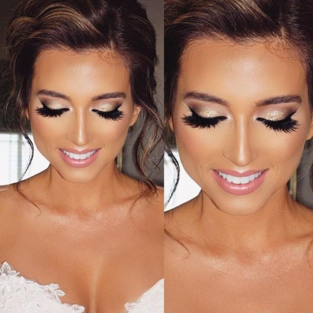"wedding photo - Jade Marie On Instagram: ""My Glamorous Airbrush Bride ✨ Using My  Machine """