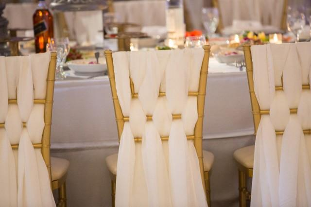 decor chiffon chiavari chair sash 2580196 weddbook