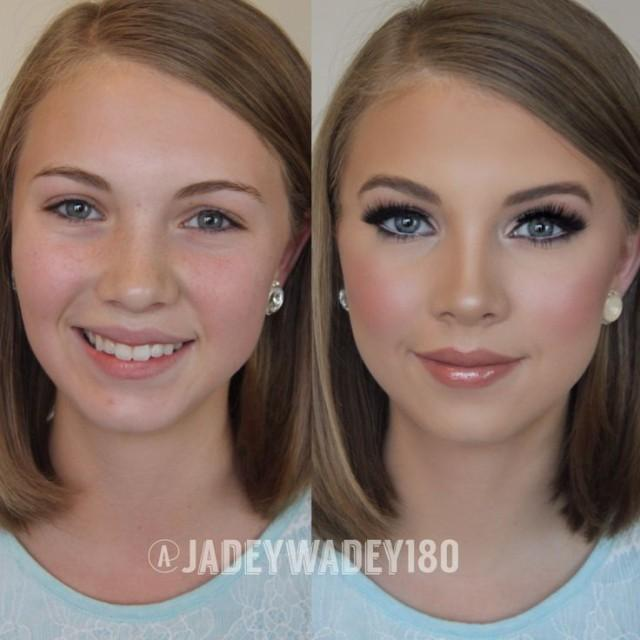 wedding photo - Pageant/Event Makeup Transformation
