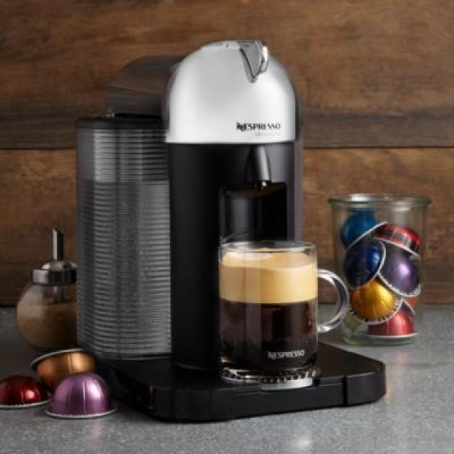nespresso coffee and espresso machine