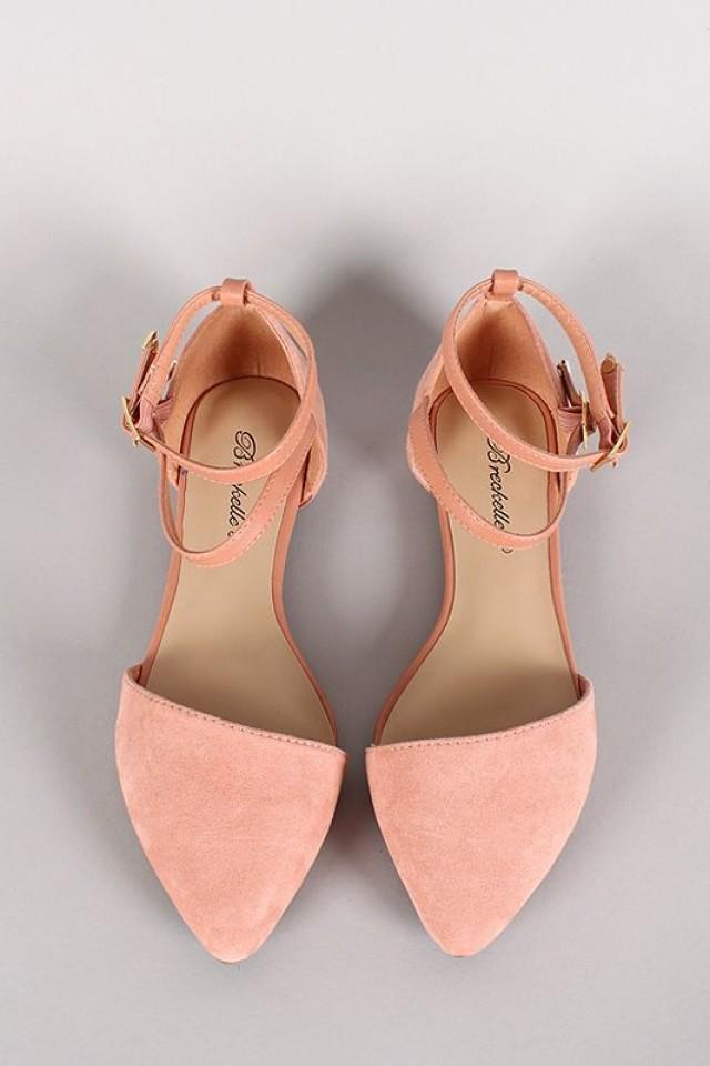Shoe Ankle Strap Flats 2580934 Weddbook