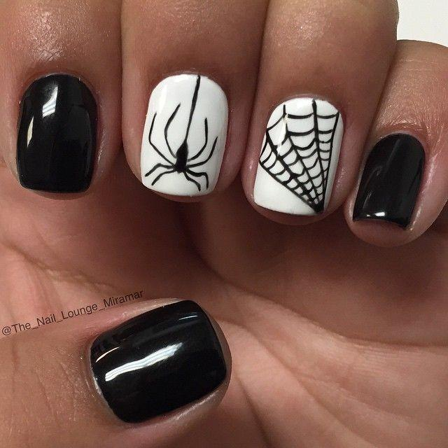 wedding photo - Halloween Nail Art