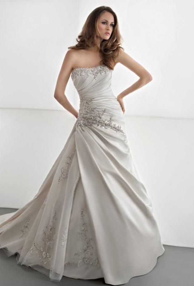 Demetrios sposabella 4306 stunning cheap wedding for Cheap wedding dresses sale