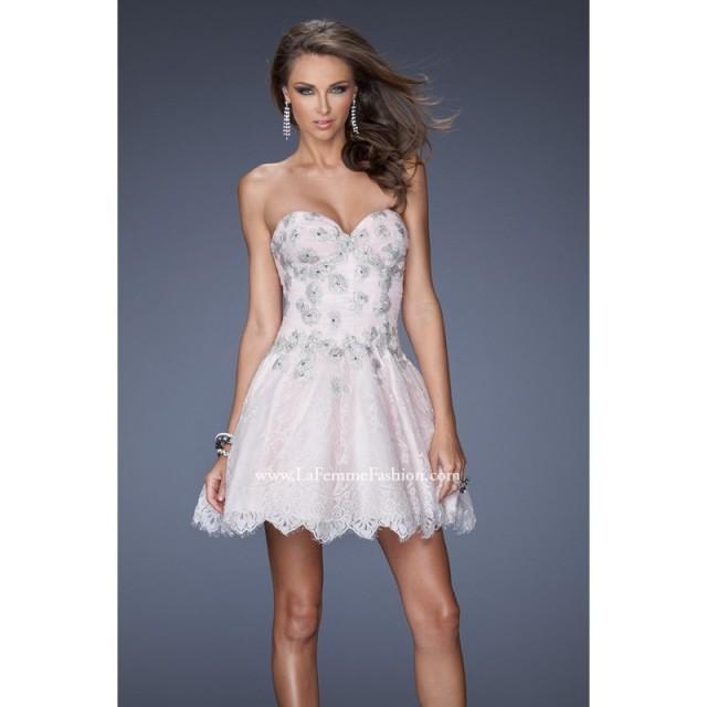 2014 cheap coctail dress by la femme 19962 dress cheap discount