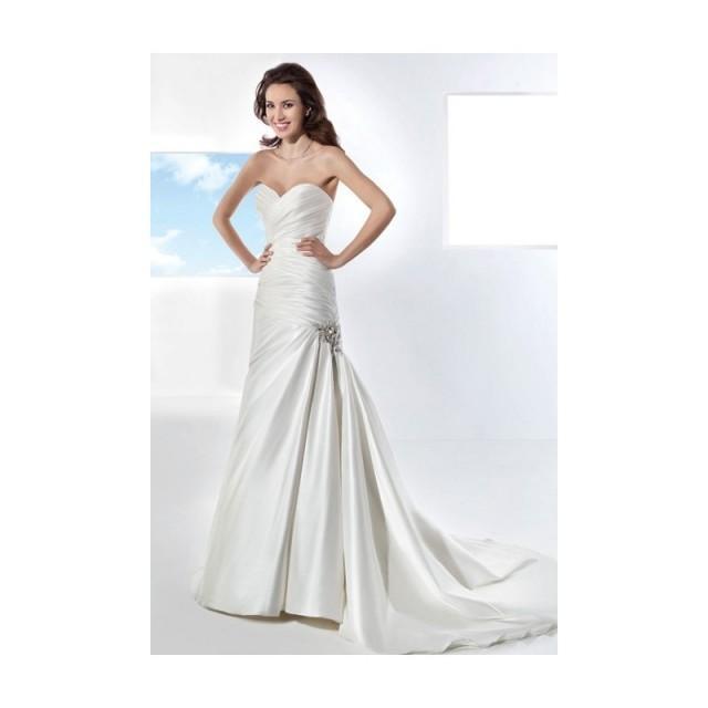 wedding photo - Demetrios - Illusions - 3209 - Stunning Cheap Wedding Dresses