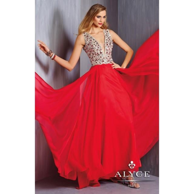 wedding photo - Alyce Paris - 6303 - Elegant Evening Dresses