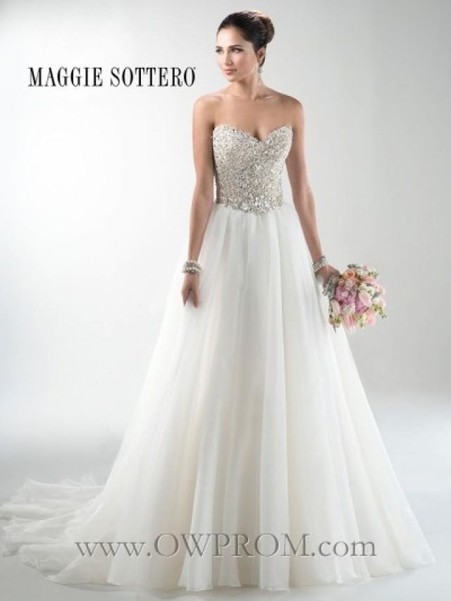 wedding photo - Maggie Sottero ESME MARIE 3MS745MC FALL2014 Wedding Dresses - OWPROM.com