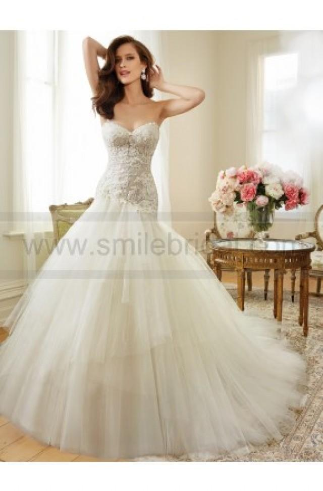 wedding photo - Sophia Tolli Y11560 - Ibis