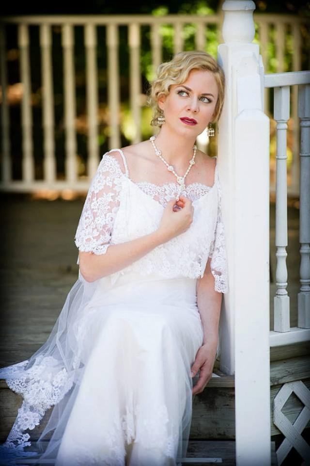 "wedding photo - DOWNTON ABBEY Wedding Dress ""Missy"""