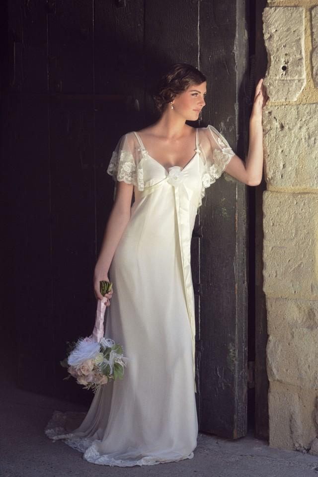 wedding photo - The COSETTE Wedding Dress by Amy Jo Tatu...