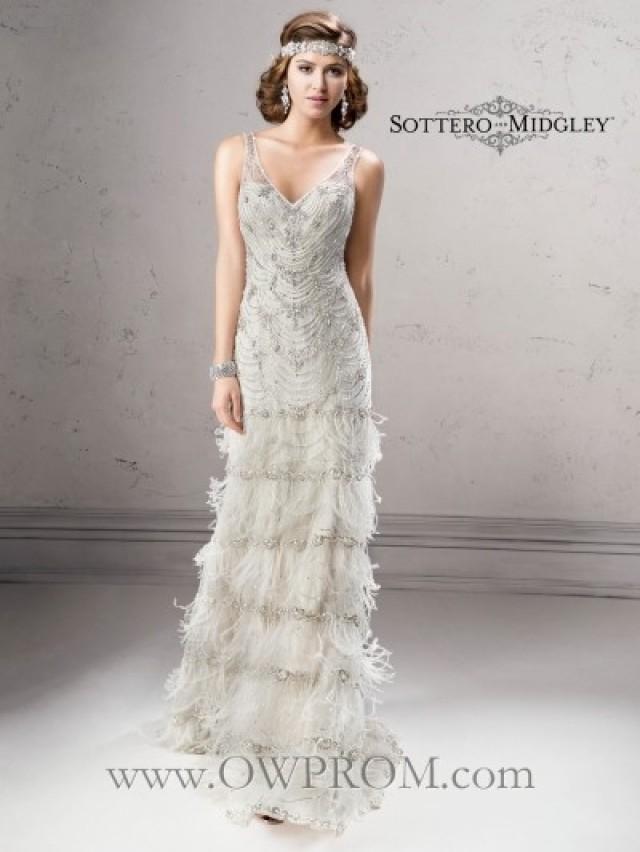 wedding photo - Sottero & Midgley SHAUNA 4ST048 FALL2014 Wedding Dresses - OWPROM.com