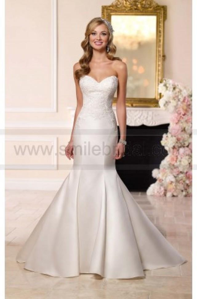 wedding photo - Stella York Dolce Fit-And-Flare Wedding Dress Style 6236