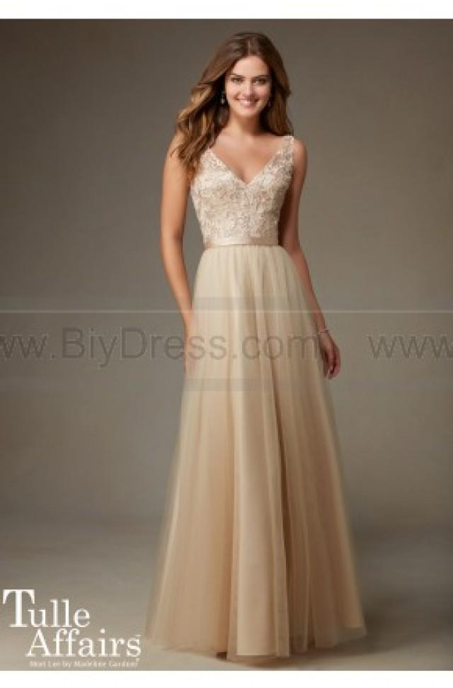 wedding photo - Mori Lee Bridesmaids Dress Style 134