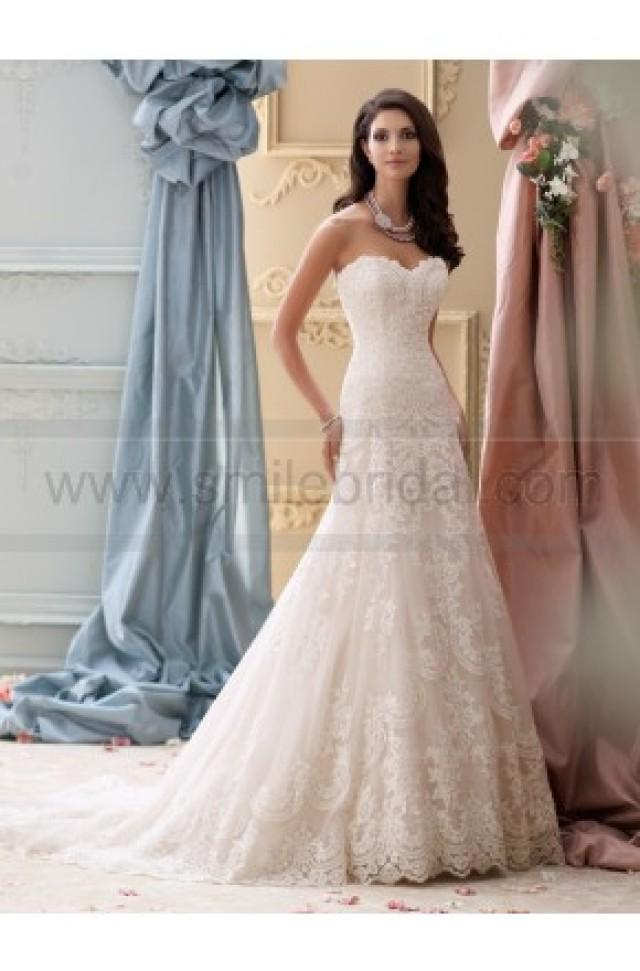 wedding photo - David Tutera For Mon Cheri 115237-Justice Wedding Dress