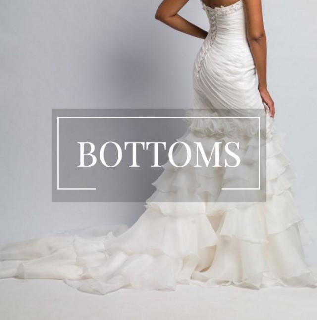 Trumpet Bottom Wedding Dresses : Wedding dress bottom trumpet mermaid bridal gown sheath