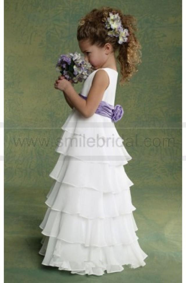 wedding photo - Chiffon Dress By Jordan Sweet Beginnings Collection L503