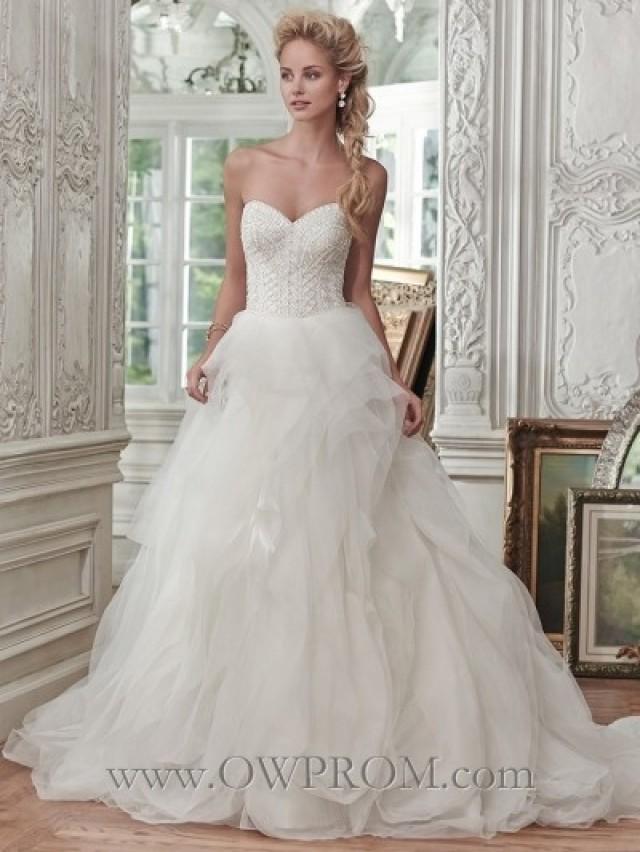 wedding photo - Maggie Sottero O'HARA 6MG276 SPR2016 Wedding Dresses - OWPROM.com