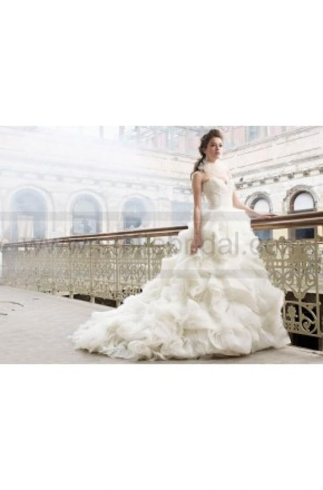 wedding photo - Lazaro Wedding Dresses Style LZ3213