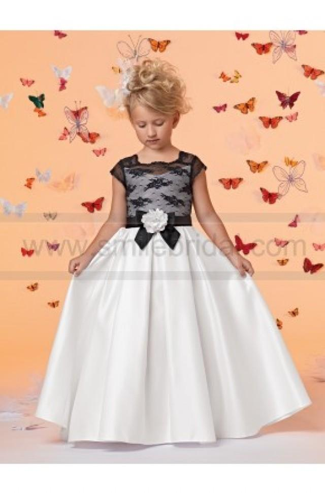 wedding photo - Sweet Beginnings by Jordan Flower Girl Dress Style L680 - NEW!