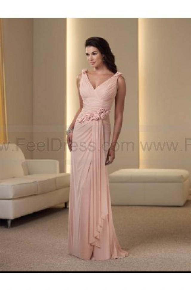 wedding photo - Dramatic V Neck Long Formal Wear (Free Shipping)