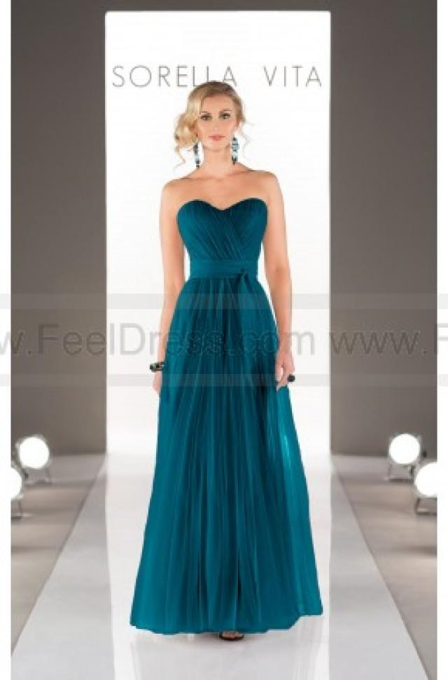 wedding photo - Sorella Vita Convertible Bridesmaid Dress Style 8595