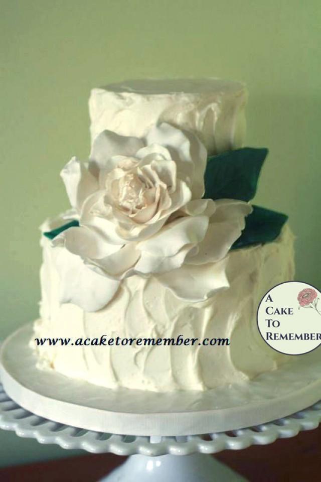 Edible Decoration For Cake : Gumpaste Gardenia For Cake Decorating, Edible Flowers For ...