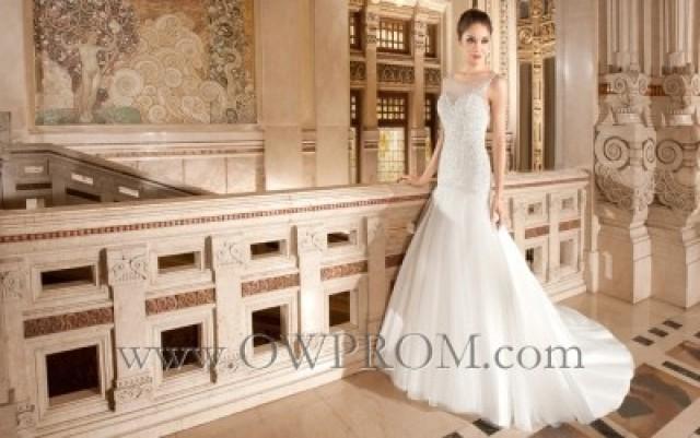 wedding photo - Demetrios 568 Wedding Dresses - OWPROM.com