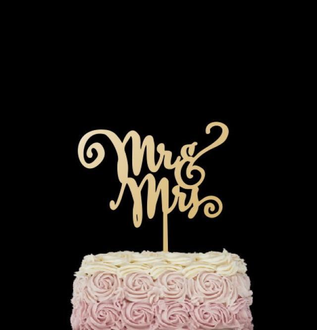 wedding photo - Mr.& Mrs. cake topper. Wedding cake topper.