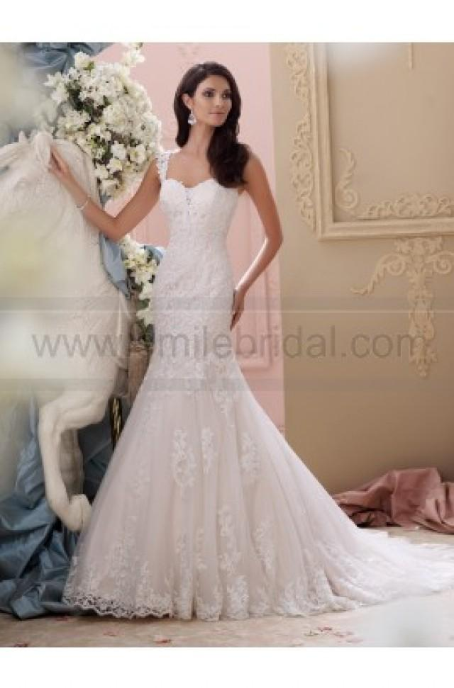 wedding photo - David Tutera For Mon Cheri 115239-Emerson Wedding Dress