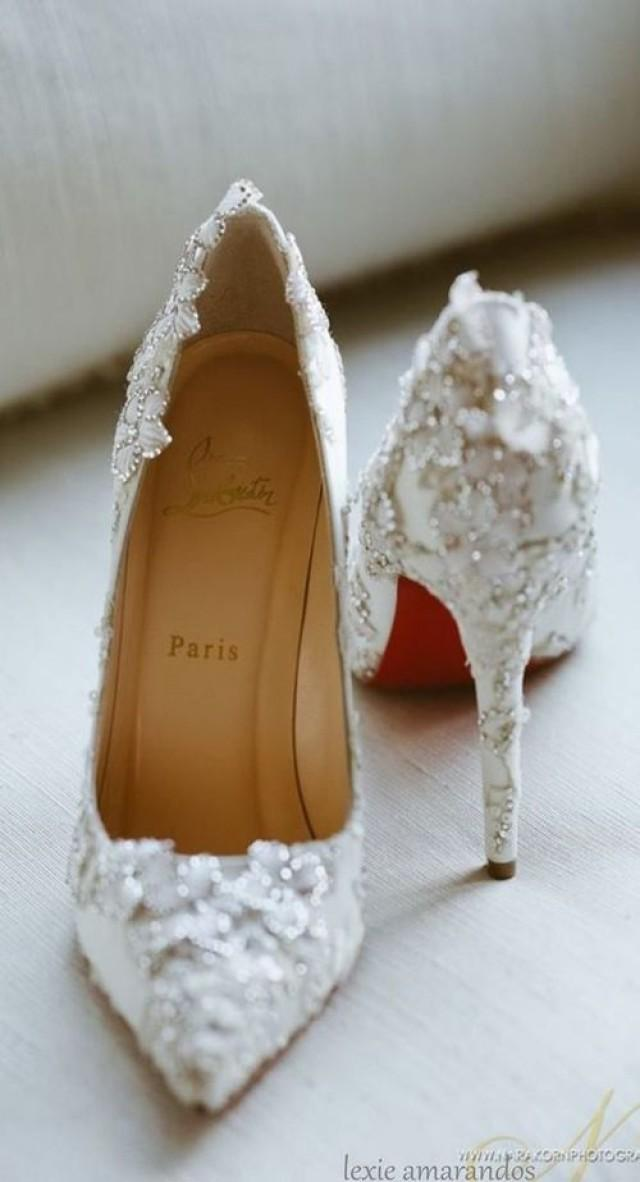 wedding photo - 70 Cute And Cool High Heel Shoes You'd Love To Wear