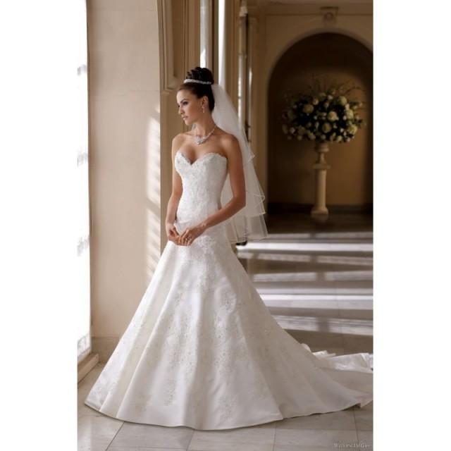 wedding photo - Mon Cheri 113215 - Helen Mon Cheri Wedding Dresses David Tutera - Rosy Bridesmaid Dresses