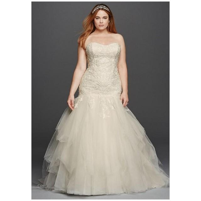 The Knot Wedding Gowns: Oleg Cassini At David's Bridal Oleg Cassini Style 8CWG737