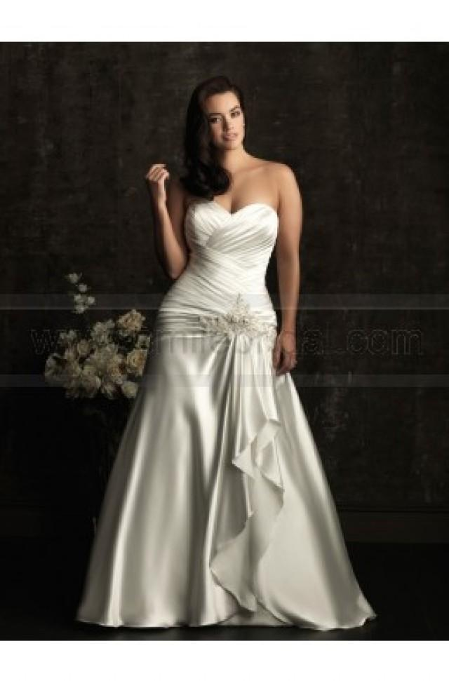 wedding photo - Allure Women Wedding Dresses - Style W302