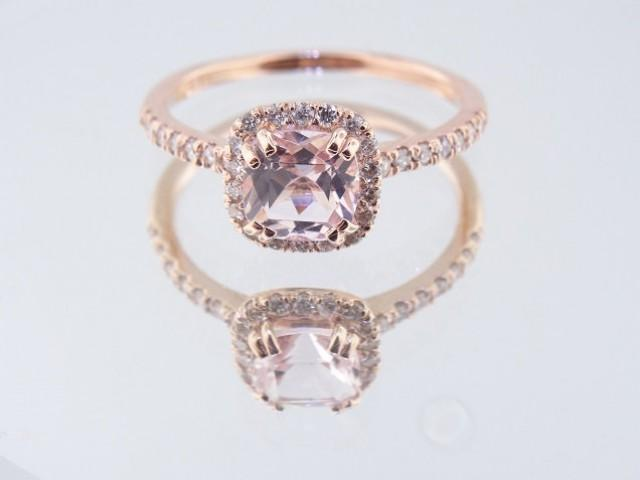 TenFit Jewelry Elegant 4ct Round Cushion Cut Solitaire
