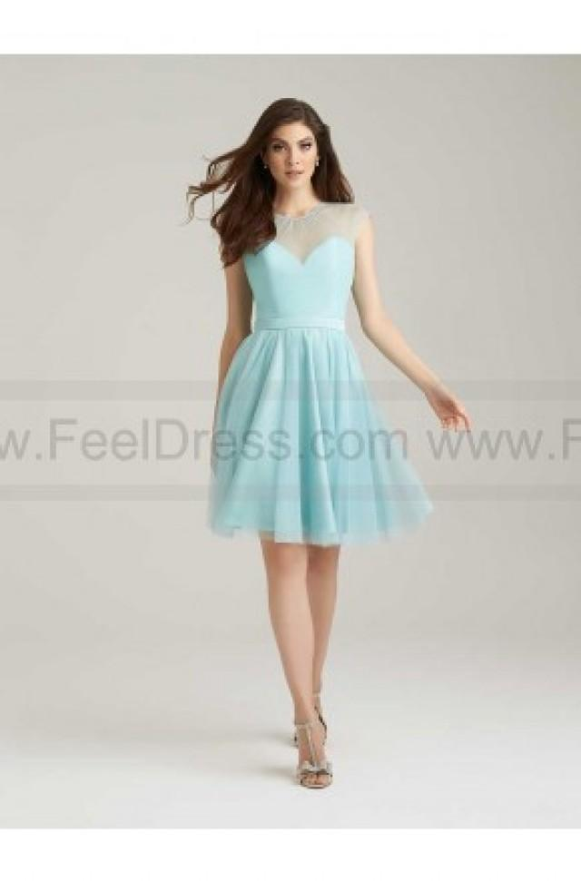 wedding photo - Allur Bridesmaid Dress Style 1468