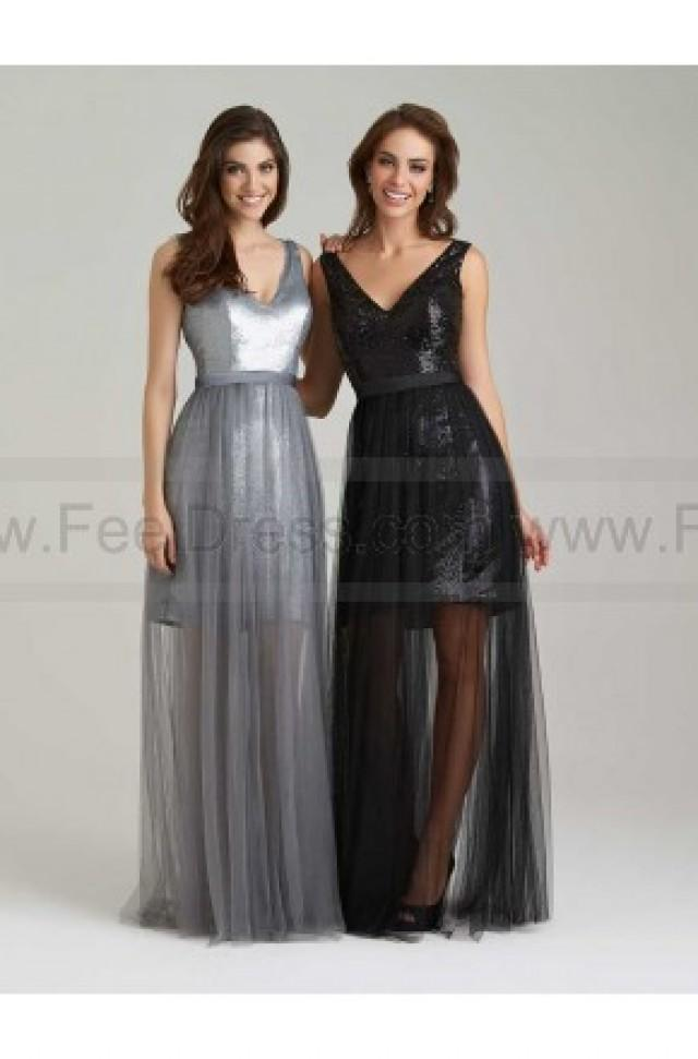 wedding photo - Allur Bridesmaid Dress Style 1470