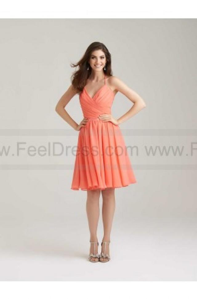 wedding photo - Allur Bridesmaid Dress Style 1466