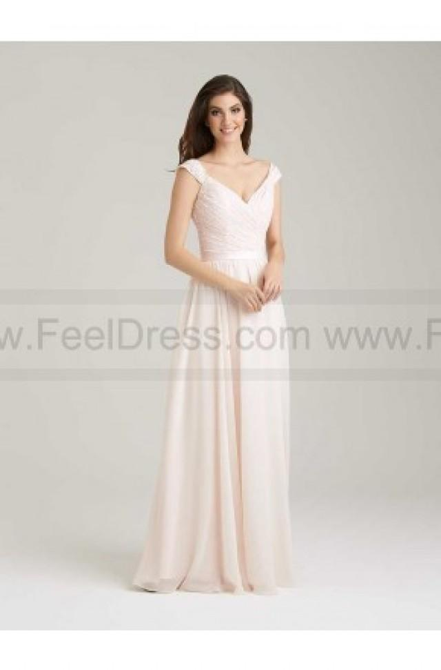wedding photo - Allur Bridesmaid Dress Style 1463