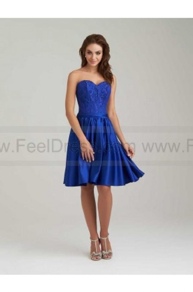 wedding photo - Allur Bridesmaid Dress Style 1460