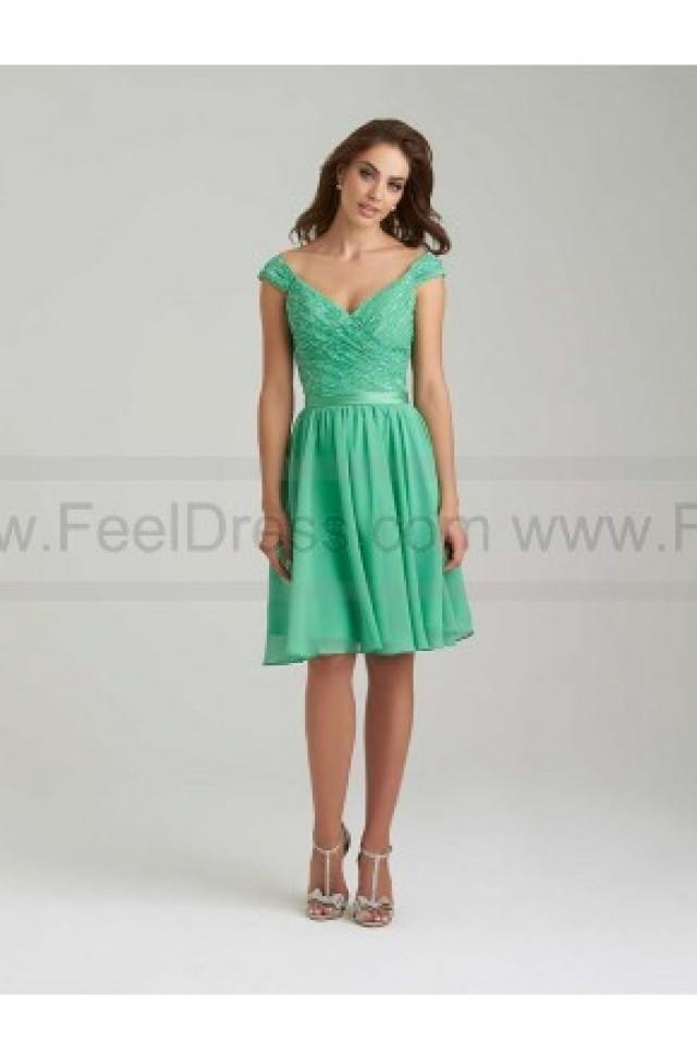 wedding photo - Allur Bridesmaid Dress Style 1462