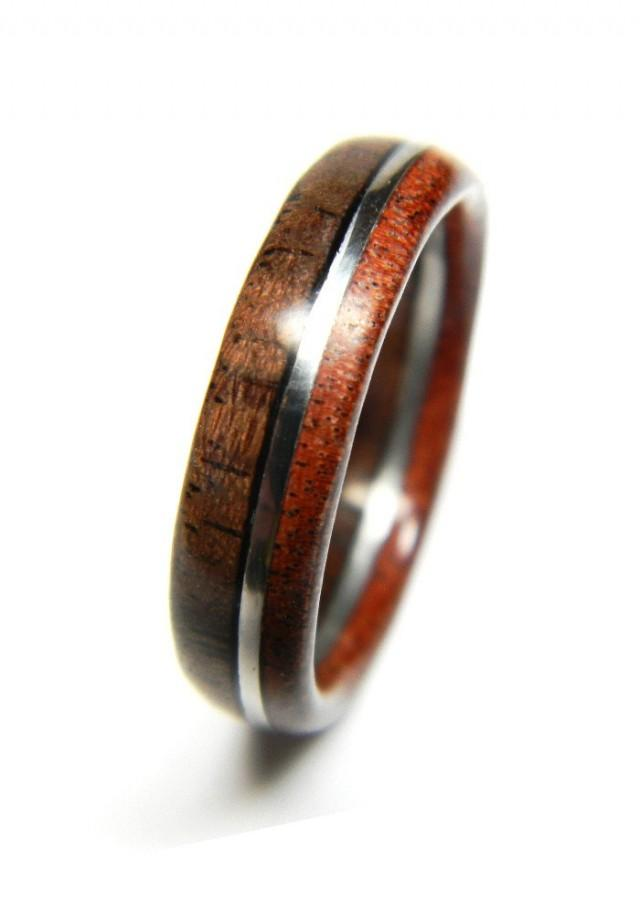 Unique Walnut And Sandalwood Wood Engagement Ring, Jewelry. Custom Designed Wedding Rings. Rainbow Moonstone Rings. Natural Wood Rings. Hobbit Wedding Rings. Wrap Rings. Pricescope Engagement Rings. Pastel Wedding Rings. Blue Sandstone Wedding Rings