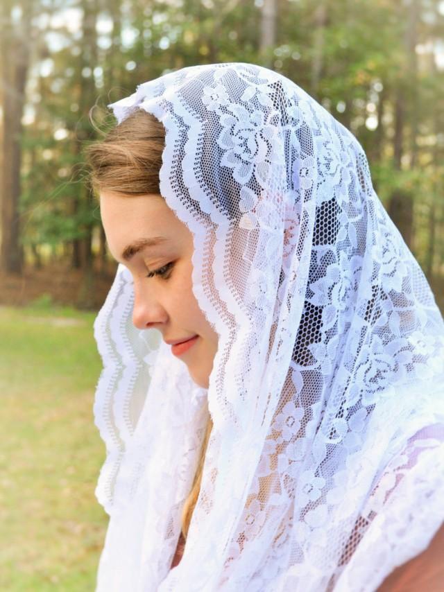 Catholic wedding veil
