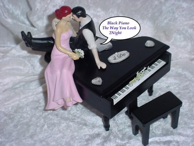 Baby Grand Piano Cake Topper