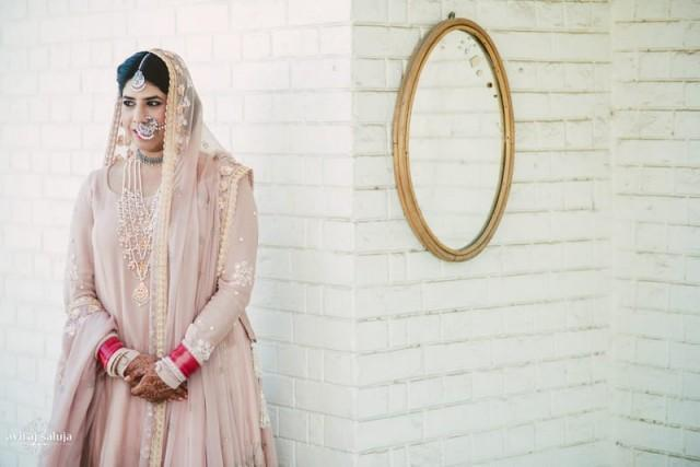 wedding photo - Bridal Wear - Pretty Punjabi Bride! 150 - 4465