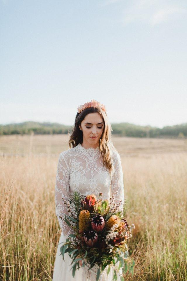 wedding photo - Bohemian Backyard Wedding