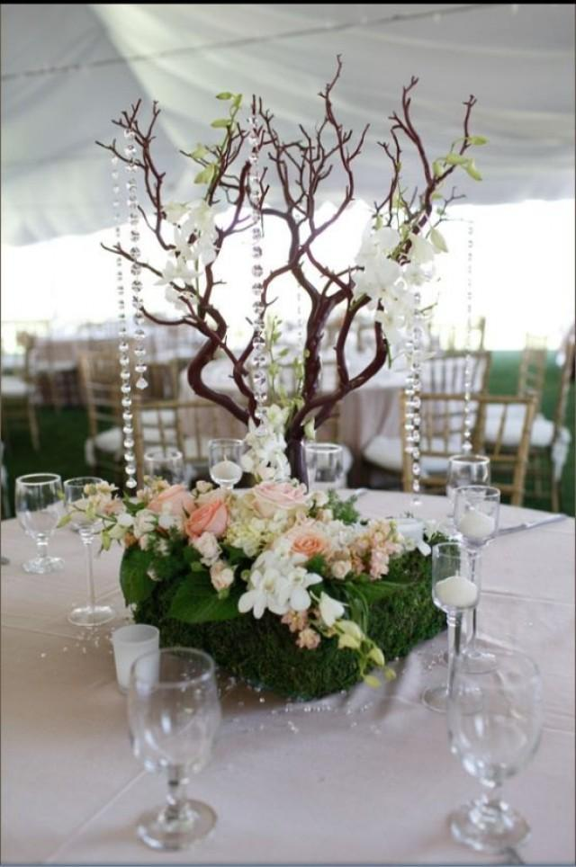 Wedding centerpieces 3 weddbook set of 12 20 manzanita branches 100 natural fresh trimmed for diy wedding centerpieces junglespirit Image collections