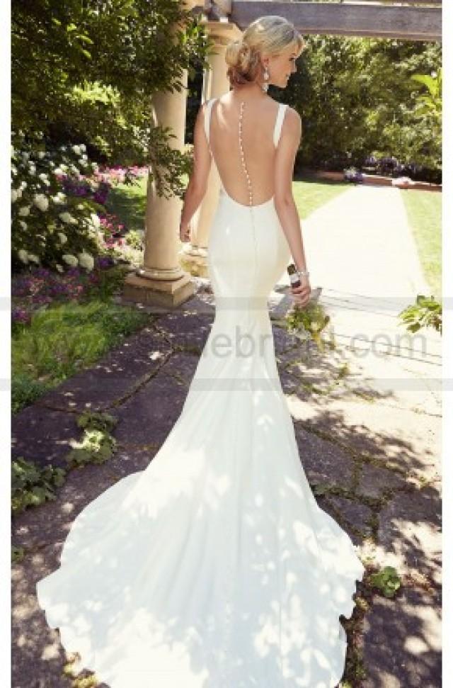 wedding photo - Essense of Australia Modern Wedding Dresses Style D1841 - Essense Of Australia - Wedding Brands