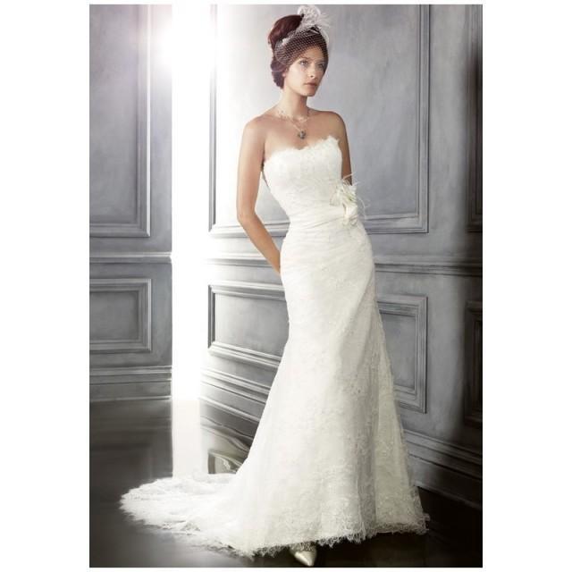 wedding photo - CB Couture B045 - Charming Custom-made Dresses