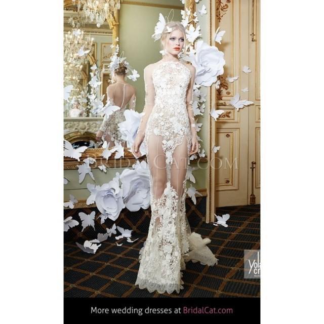 wedding photo - YolanCris Lace Couture Duna - Fantastische Brautkleider